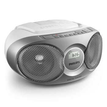 CD радиокасетофон Philips AZ215S, CD, FM, 3W (RMS) image