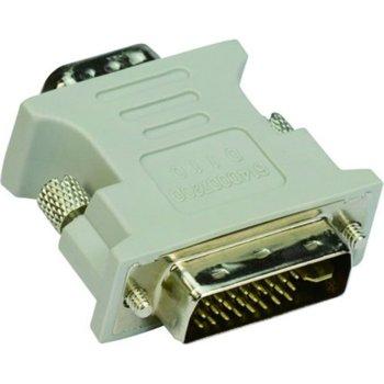 Преходник VCom CA301, от DVI-I(м) към VGA(ж), сив image