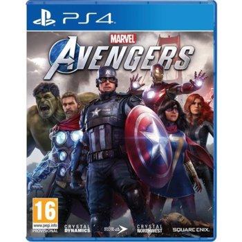 Игра за конзола Marvel's Avengers, за PS4 image