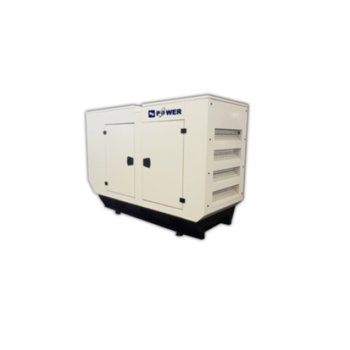 Дизелов генератор KJ POWER KJP 50C, трифазен, двигател PERKINS, алтернатор SINCRO, 50kVA/40kW, водно охлаждане, 176л резервоар, с кожух image
