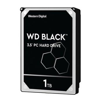 """Твърд диск 1TB WD Black Performance, SATA 6Gb/s, 7200rpm, 64MB, 3.5"""" (8.89 cm) image"""
