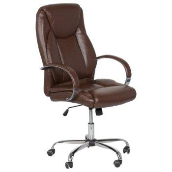 Дирекорски стол Carmen 6501, кафяв image