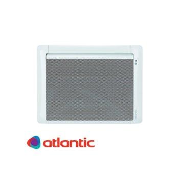 """Конвектор Atlantic Tatou Digital IO, 1500W, стенен, до 22 м2 отопляема площ, IP24, LCD дисплей, функция """"Отворен прозорец"""", бял image"""