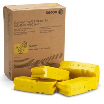Мастило за Xerox ColorQube 9301/ 9302/ 9303 - Yellow - 4 sticks - заб: 37 000к image