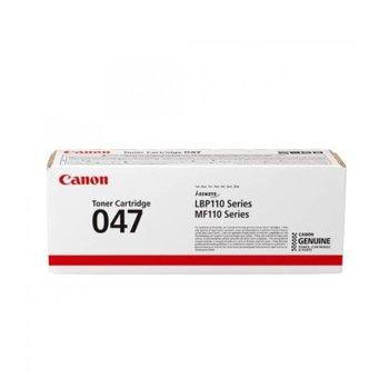 Тонер касета Canon CRG-047, черен, до 1 600 страници image
