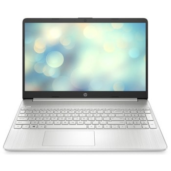"Лаптоп HP 15s-fq3002nu (46S50EA)(сребрист), четириядрен Jasper Lake Intel Pentium N6000 1.1/3.3 GHz, 15.6"" (39.62 cm) Full HD IPS Anti-Glare Display, (HDMI), 8GB DDR4, 256GB SSD, 1x USB 3.1 Type C, No OS image"