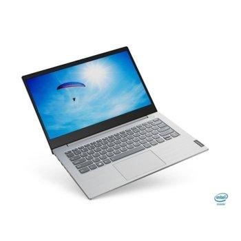"Лаптоп Lenovo ThinkBook 14-IIL (20SL003RBM_5WS0A23781)(сив), двуядрен Ice Lake Intel Core i3-1005G1 1.2/3.4 GHz, 14.0"" (35.56 cm) Full HD IPS Anti-Glare Display, (HDMI), 4GB DDR4, 256GB SSD, 1x USB 3.1 Type-C, Windows 10 Pro image"