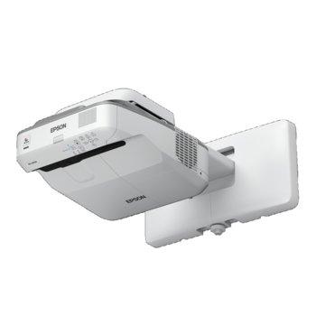 Проектор Epson EB-685W, 3LCD, WXGA (1280 x 800), 14 000:1, 3 500 lm, HDMI, D-Sub, RJ-45 image