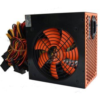 Захранване Segotep SG-D600SCR, 550W, Active PFC, 120мм вентилатор image