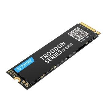 Памет SSD 512GB, Orico V500-512GB-BP, NVMe, m.2 2280, скорост на четене 2070MB/s, скорост на запис 1540MB/s image