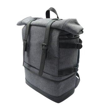 """Раница за фотоапарат Canon Backpack BP10, за DSLR фотоапарат, 2x обектива и аксесоари, полиестер, джоб за 9.7"""" таблет, дъждобран, сива image"""
