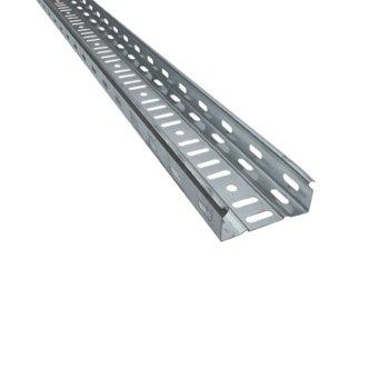 Кабелен канал Elmark, универсален, широчина 100 mm, височина 60 mm, дължина 2500 mm, метален image