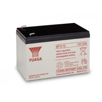 Акумулаторна батерия Yuasa NP12-12, 12V, 12Ah, VRLA image