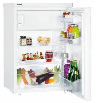 Хладилник Libherr T 1404 Comfort, клас F, oбщ oбем 127 л., Възможност за вграждане под плот, Cool Plus, бял image
