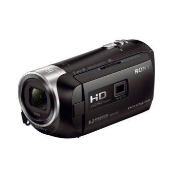 """Видеокамера с вграден проектор Sony HDR-PJ410, 4K, 2.7"""" (6.7cm) LCD Dispaly, 30x oптично увеличение, HDMI, Micro USB, Wi-Fi  image"""