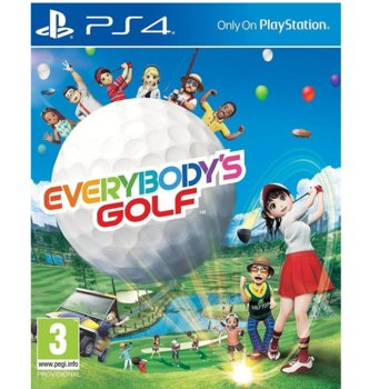 Игра за конзола Everybodys Golf, за PS4 image
