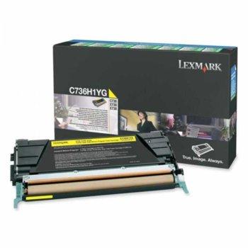 Laser Toner Lexmark for C736,/X736,/X738 - 10 000  product
