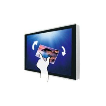 "Дисплей Winmate W24L100-POA2, тъч дисплей, 23.8"" (60.45 cm), Full HD, HDMI, VGA image"