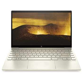 "Лаптоп HP ENVY 13-ba0003nu (1N7N1EA)(златист), четириядрен Ice Lake Intel Core i5-1035G1 1.0/3.6 GHz, 13.3"" (33.78 cm) IPS Full HD BrightView Display, (Thunderbolt 3), 8GB DDR4, 512GB SSD, Windows 10 Home image"