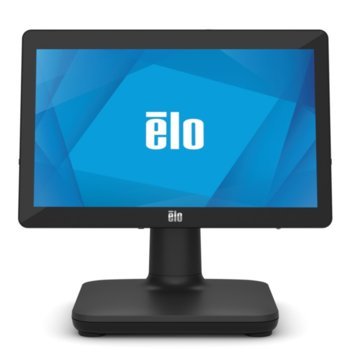 "Тъч компютър Elo E935572 EPS15H2-2UWA-1-MT-4G-1S-NO-00-BK, четириядрен Gemini Lake Intel Celeron J4105 1.5/2.5 GHz, 15.6"" (39.62 cm) HD Touchscreen Display, 8GB DDR4, 128GB SSD, 3x USB 3.0, No OS image"