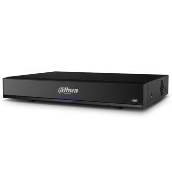Хибриден видеорекордер Dahua XVR7104HE-4K-I2, 4 канален, AI/H.265+/H.265/H.264+/H.264, 1x SATA(до 1x 10TB), 1x USB 3.0, 1x USB 2.0, 1x LAN10/100/1000, 1x HDMI, 1x VGA, 1x RS485 image