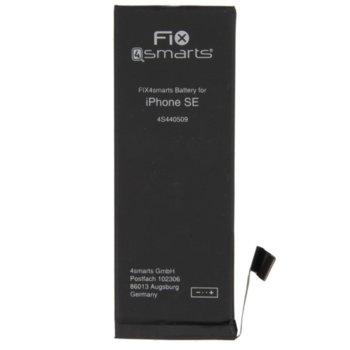Батерия (заместител) FIX4smarts, за iPhone SE, 1624mAh/3.8V image