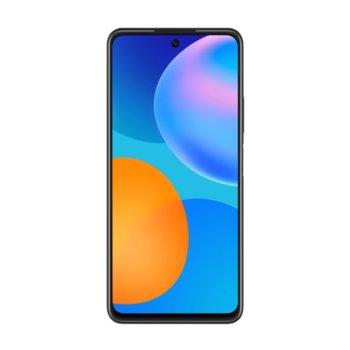 """Смартфон Huawei P Smart 2021 (черен), поддържа 2 sim карти, 6.67"""" (16.94 cm) FHD+ IPS LCD дисплей, осемядрен Kirin 710A 2.0GHz, 4GB RAM, 128GB Flash памет, 48.0 + 8.0 + 2.0 + 2.0 MPix & 8.0 MPix камера, Android, 206g image"""