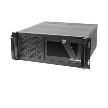 """Кутия Lanberg SC01-4504-08B, 4U rack-mount, 19"""", без захранване image"""