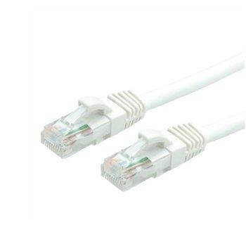 Пач кабел Roline, UTP, Cat.6, 2m, бял image