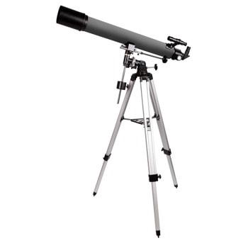 Телескоп Levenhuk Blitz 80 PLUS, рефракторен, 160x оптично увеличение, 80 mm диаметър на лещата(апертура), 900 mm фокусно разстояние image