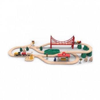 Влакче Xiaomi Mi Toy Train Set, 63 части, 3+ image