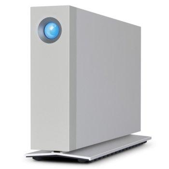 Твърд диск 3TB LaCie d2 STEX3000200, външен, Thunderbolt 2, USB 3.0, сребрист image
