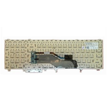 Клавиатура за лаптоп Dell, съвместима със серия Latitude E6520, US/UK image