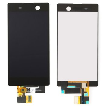 Sony Xperia M5 LCD touch with frame Black Original product