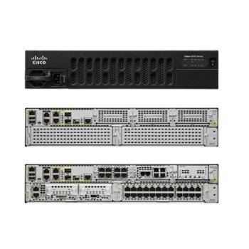 Рутер Cisco ISR 4351, 3х10/100/1000Base-T WAN, 72x 10/100/1000Base-T, 3x SFP, 3x NIM, 1x ISC, 4GB DRAM, 4GB памет, 2x USB 2.0 image