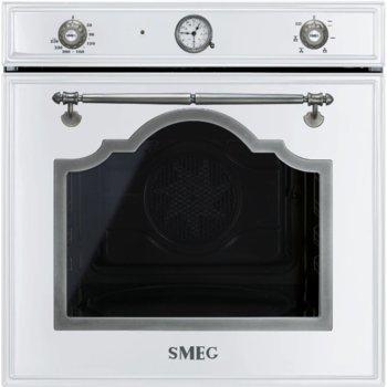 Фурна за вграждане SMEG SF700BS, енергиен клас А, 70 л., 6 функции, ECO-функция, 5 нива на готвене, тройно стъкло, бяла image
