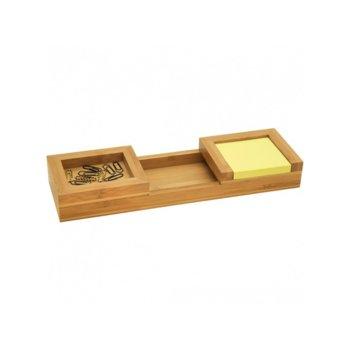 Органайзер за бюро Wedo Bamboo 1607, кафяв image