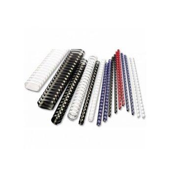 Спирала за подвързване, диаметър 6 mm, капацитет до 25 листа, черна image