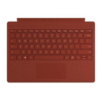 Клавиатура за таблет Microsoft Surface Pro Type Cover, съвместима с Microsoft Surface Pro, червена image