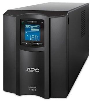 UPS APC Smart-UPS C, 1500VA/900W, Line Interactive, Tower image
