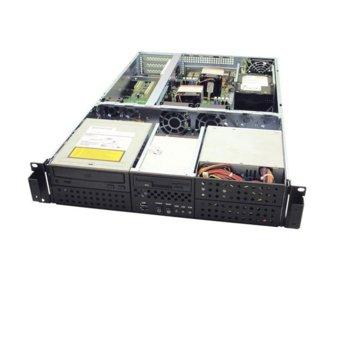 Кутия AIC RMC-2R-0-2, 2U, без захранване image