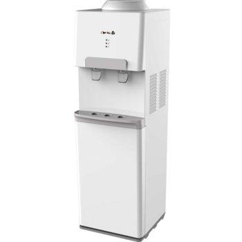 Диспенсър за вода Arielli AWD-1732S-W, бутон за топла вода, хладка вода, студена вода, 420W нагревател, бял image