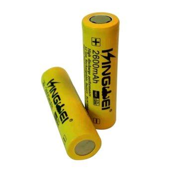 Акумулаторна батерия 0405031101, 18650, 3.7V, 2600mAh, Li-Ion, 1 брой, без Пъпка image