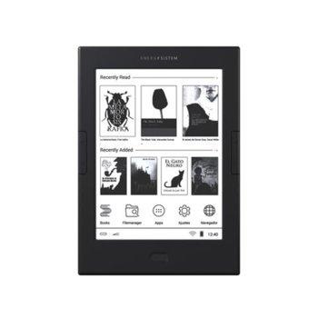 "Електронна книга Energy Sistem eReader Max, 6""(15.24cm), E Ink Carta дисплей, 8GB Flash памет, Wi-Fi, черна image"