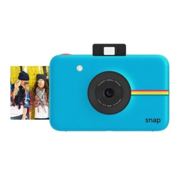 Фотоапарат Polaroid SNAP, 10.0 Mpix, MicroSD слот, 1080p видео резолюция, син image