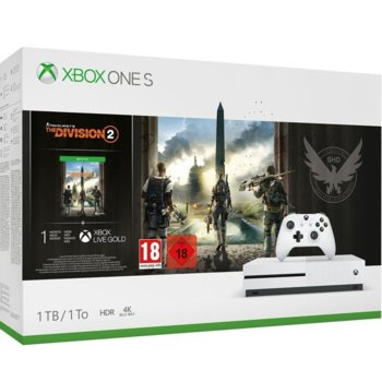 Xbox One S + Tom Clancys The Division 2 Bundle