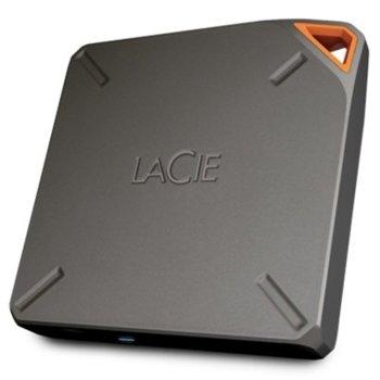 """Твърд диск 1TB Lacie Fuel (сив), външен, 2.5"""" (6.35 cm), USB 3.0/Wi-Fi image"""