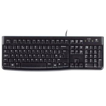 Клавиатура Logitech K120 (Retail), USB image