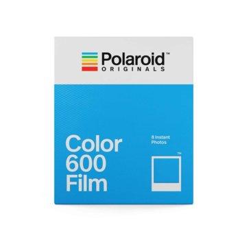 Фотохартия Polaroid Originals Color Film, 4.2 x 3.5 inch, за Polaroid 600/i-Type Cameras, 8 листа image
