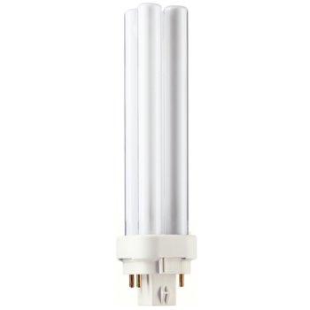 Луминисцентна лампа Philips MASTER PL-C 18W/830 4P, 18W, 1200 lumens, 3000K, бяла image
